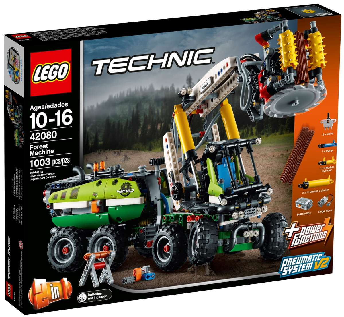 lego 42080 forest machine
