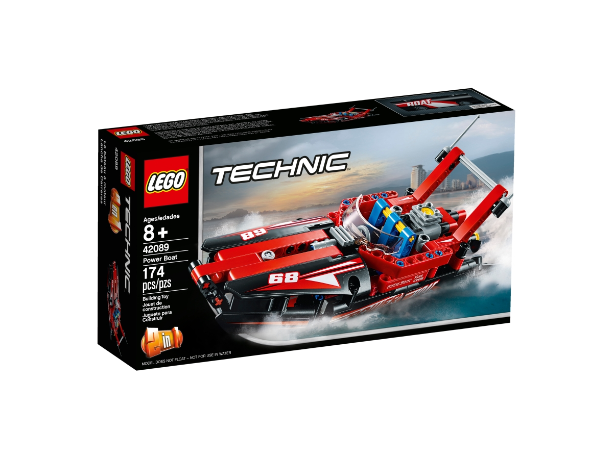 lego 42089 power boat