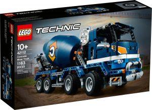 lego 42112 concrete mixer truck