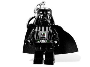lego 5001159 star wars darth vader light keyring