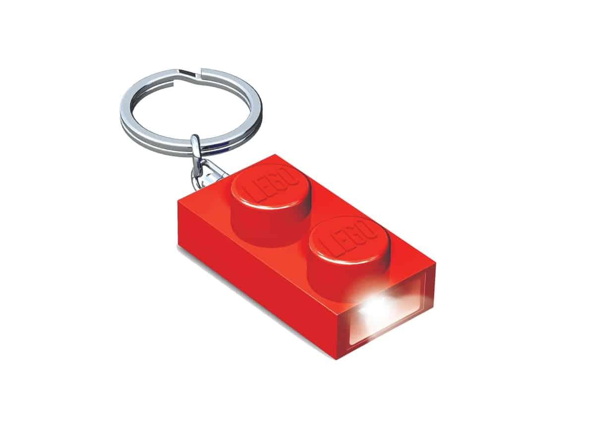 lego 5004264 1x2 brick key light red