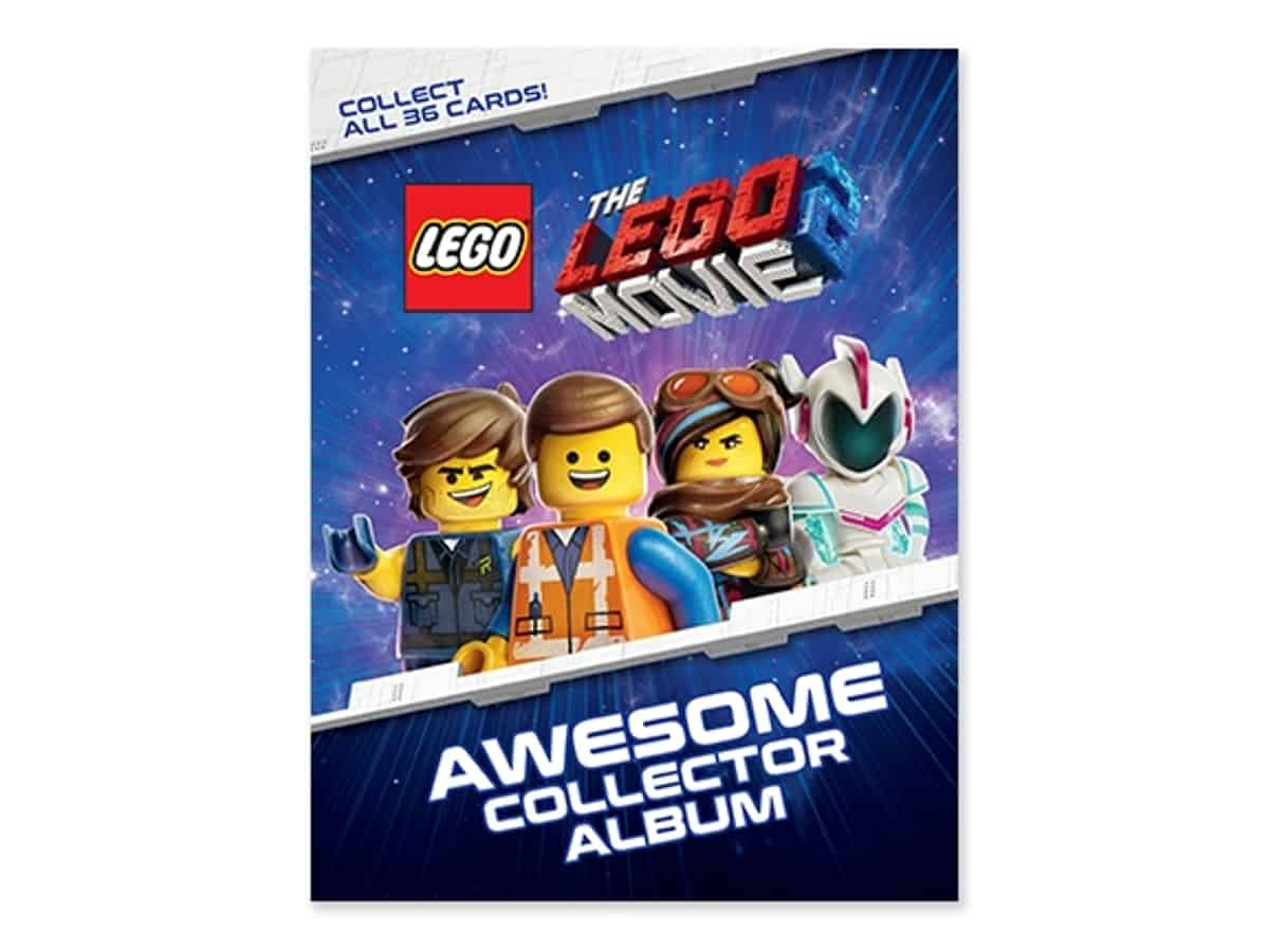 lego 5005791 movie 2 collector album and trading card