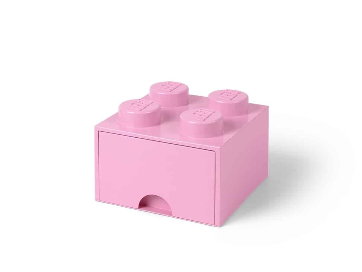 lego 5006173 4 stud light purple storage brick drawer
