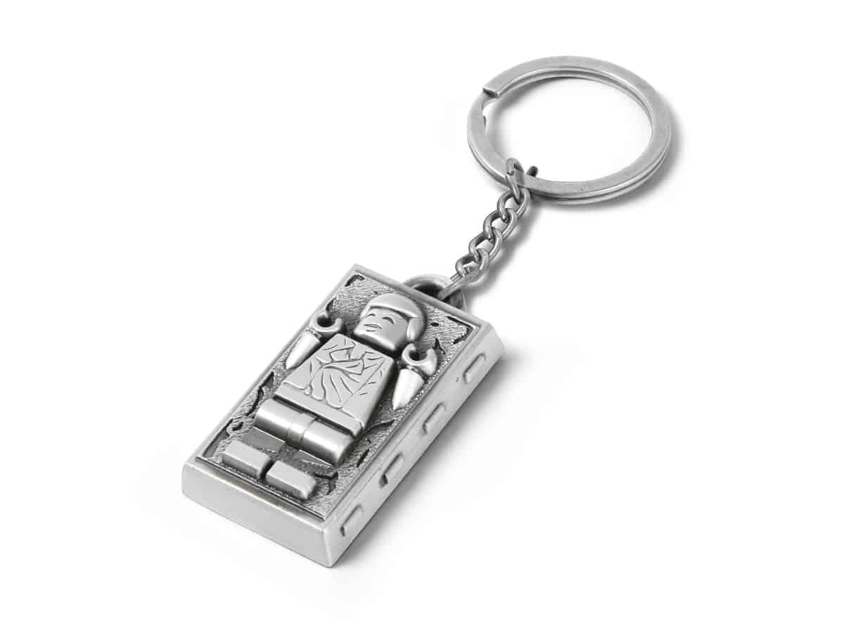lego 5006363 star wars han solo keychain