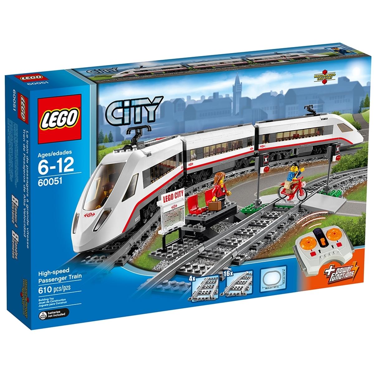 lego 60051 high speed passenger train
