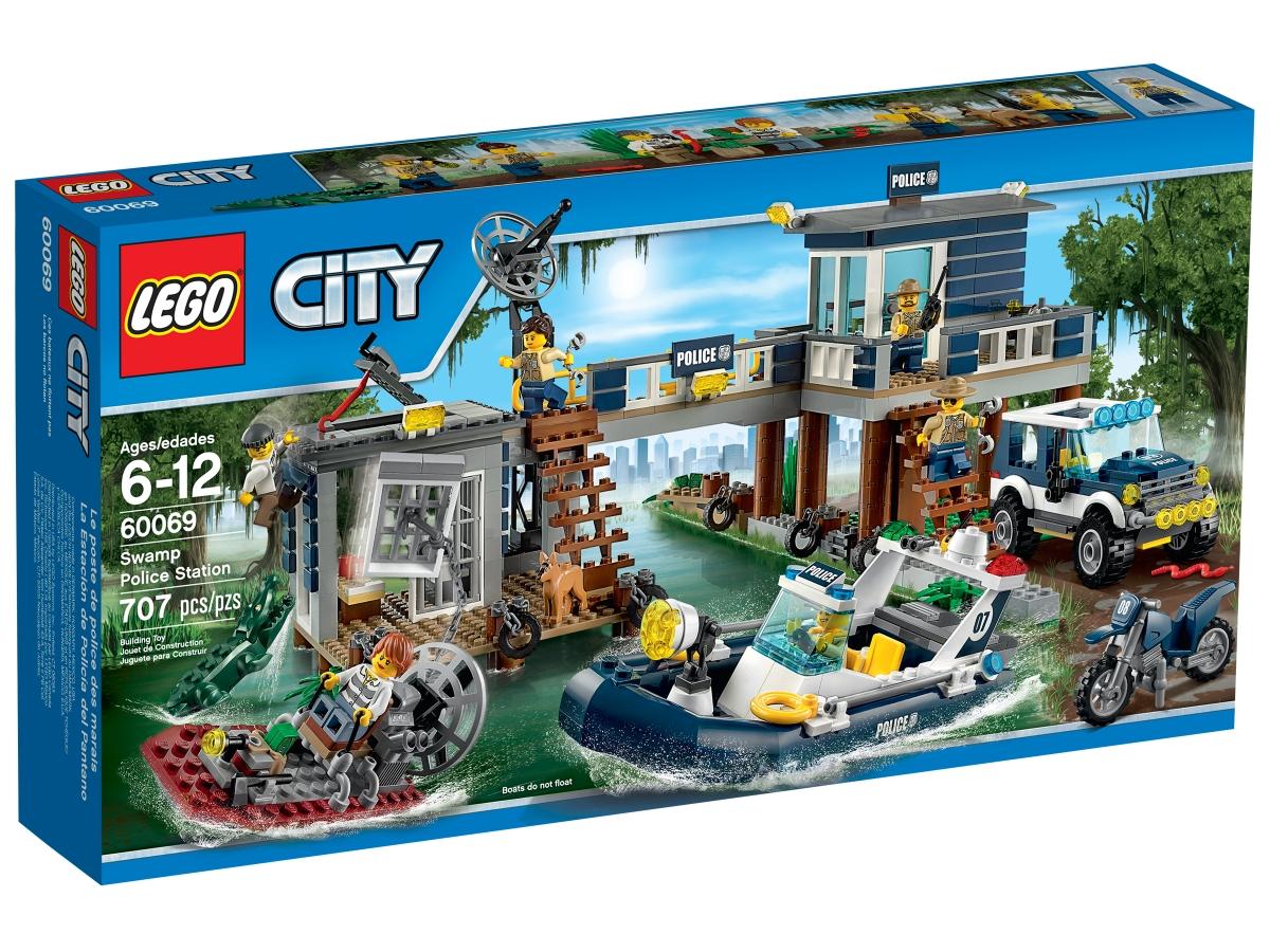 lego 60069 swamp police station