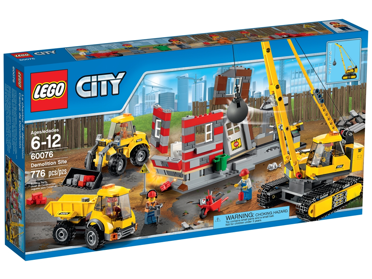 lego 60076 demolition site