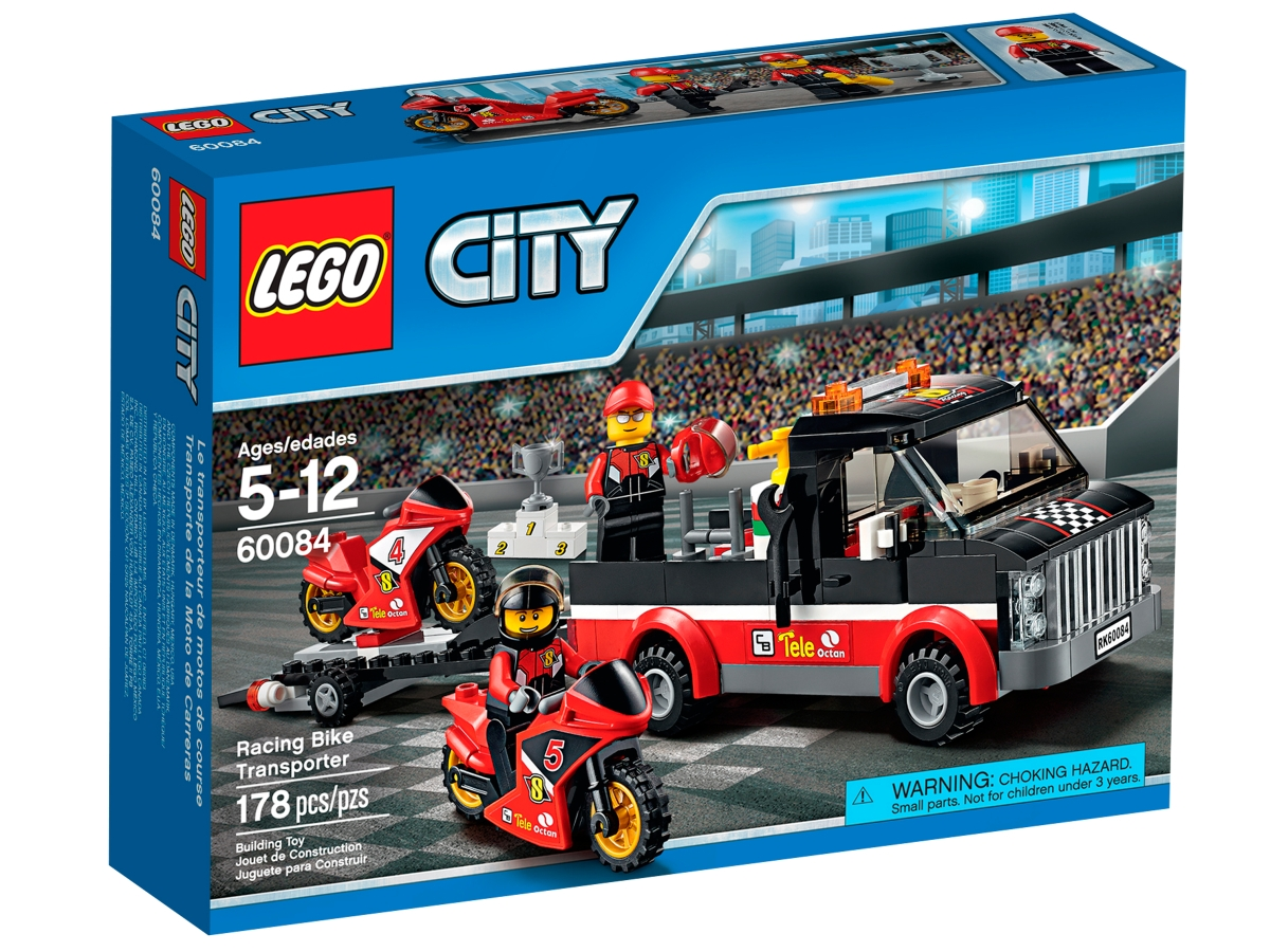 lego 60084 racing bike transporter