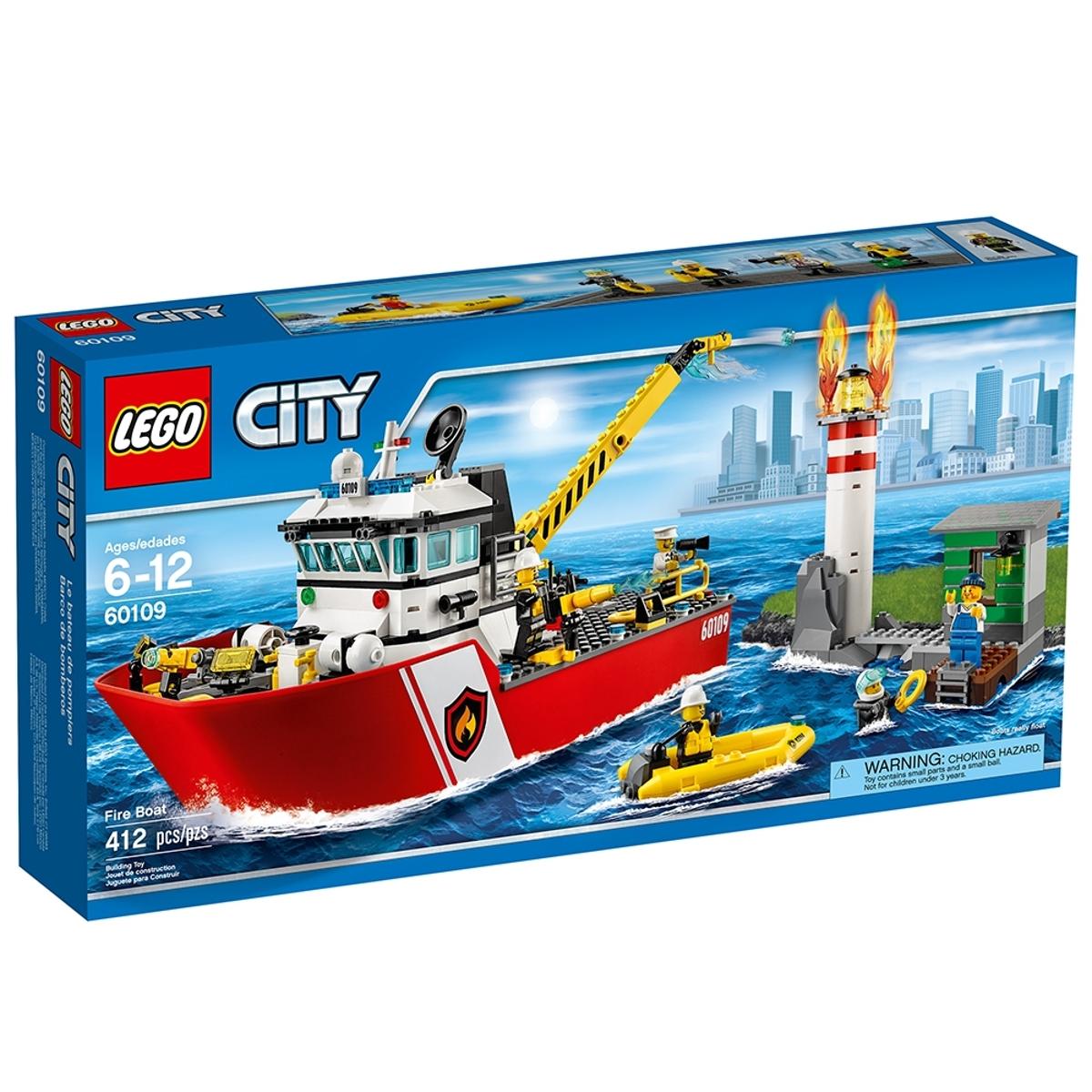 lego 60109 fire boat