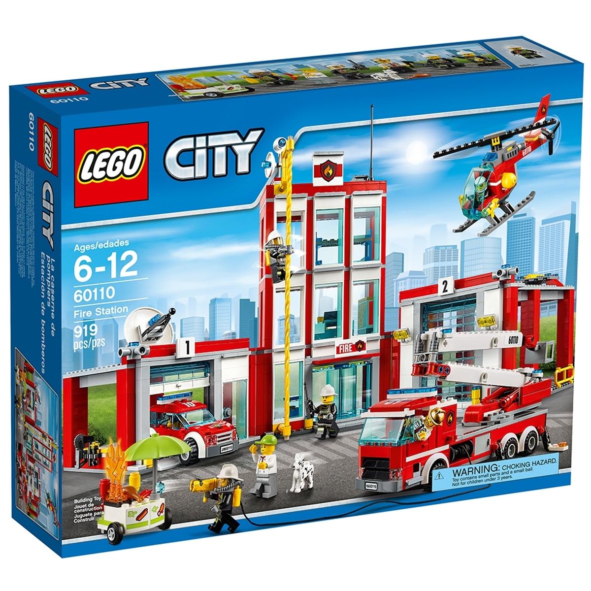 lego 60110 fire station