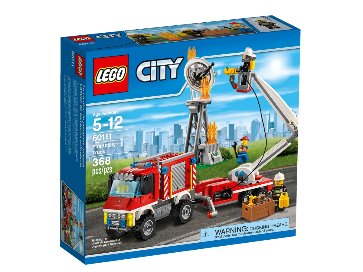 lego 60111 fire utility truck