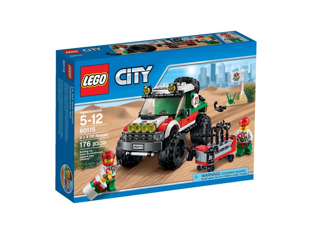 lego 60115 4 x 4 off roader