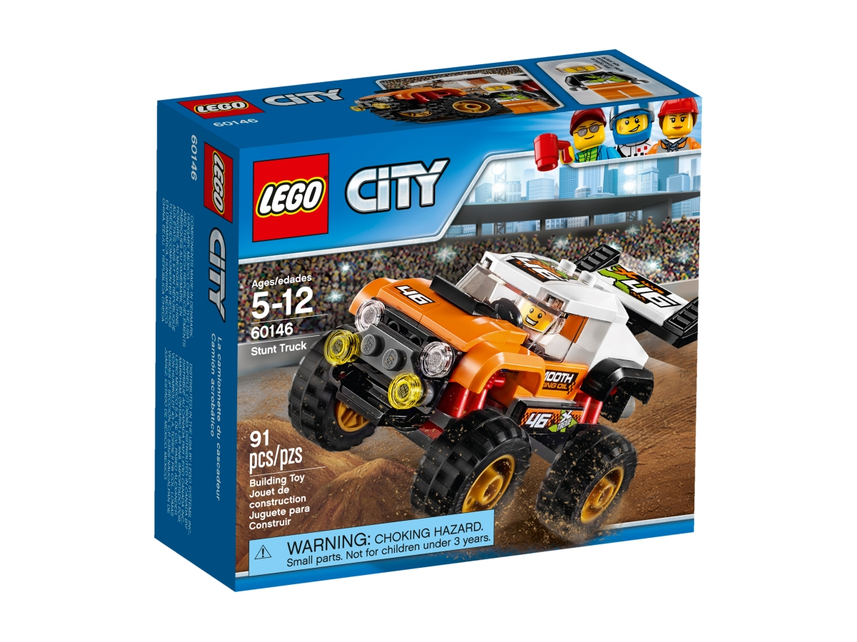 lego 60146 stunt truck