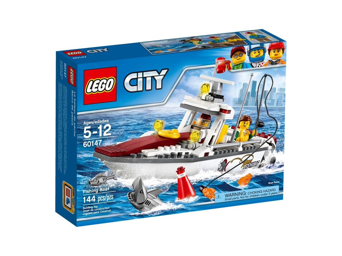 lego 60147 fishing boat