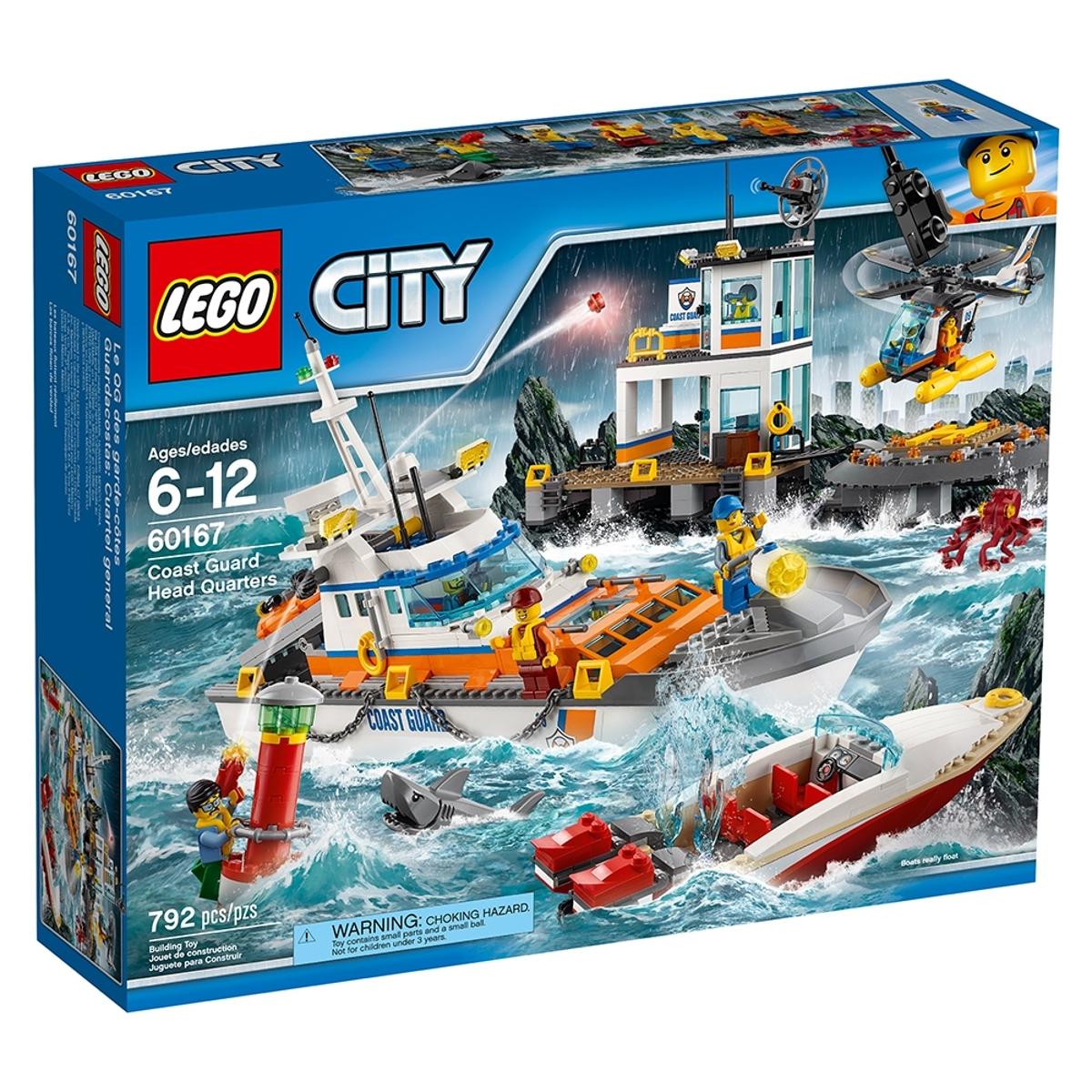 lego 60167 coast guard head quarters