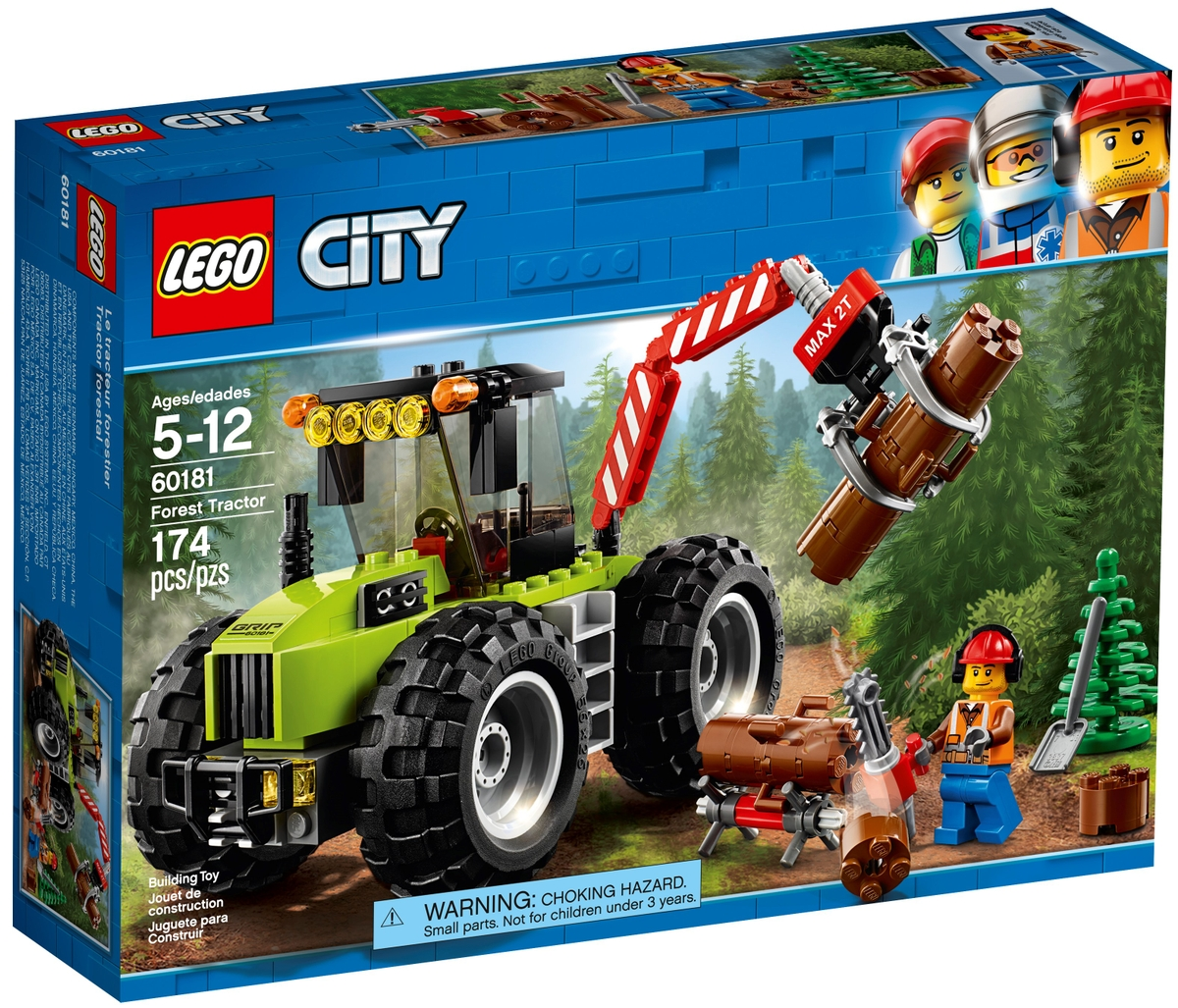 lego 60181 forest tractor