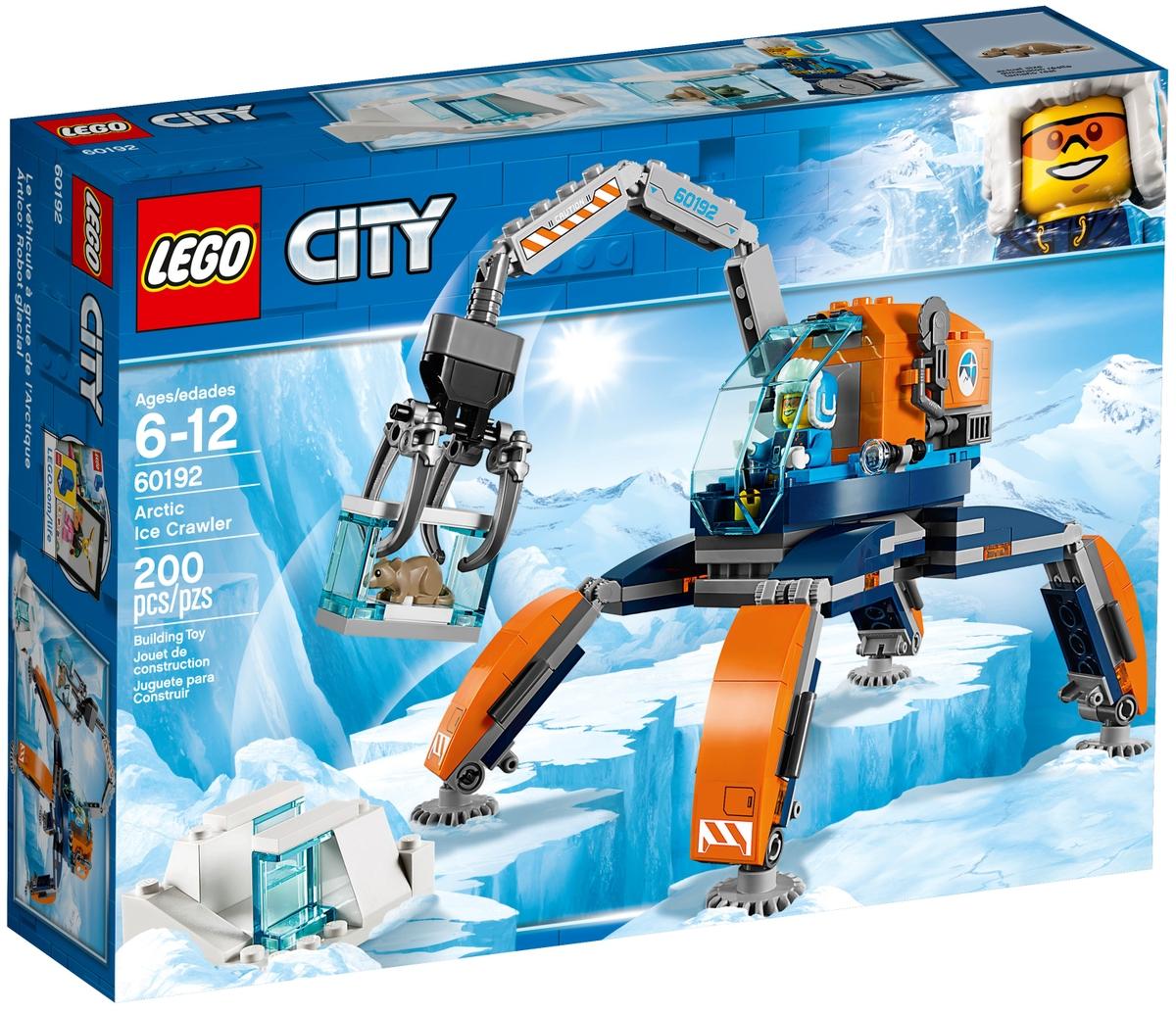 lego 60192 arctic ice crawler