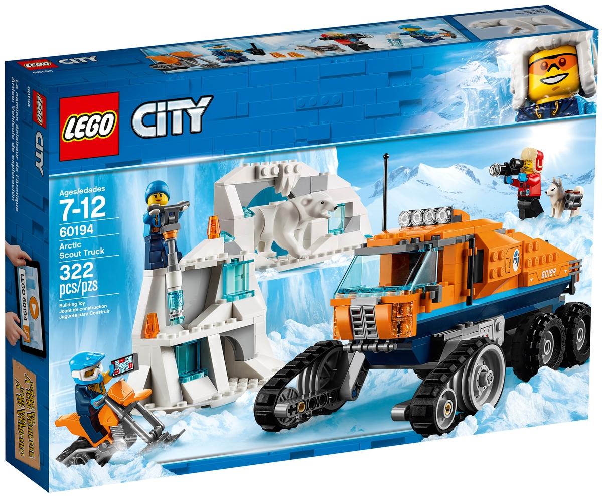 lego 60194 arctic scout truck