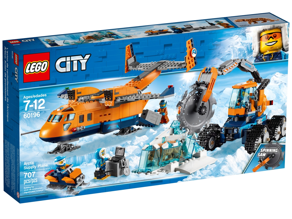 lego 60196 arctic supply plane