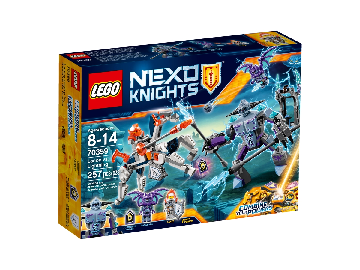 lego 70359 lance vs lightning