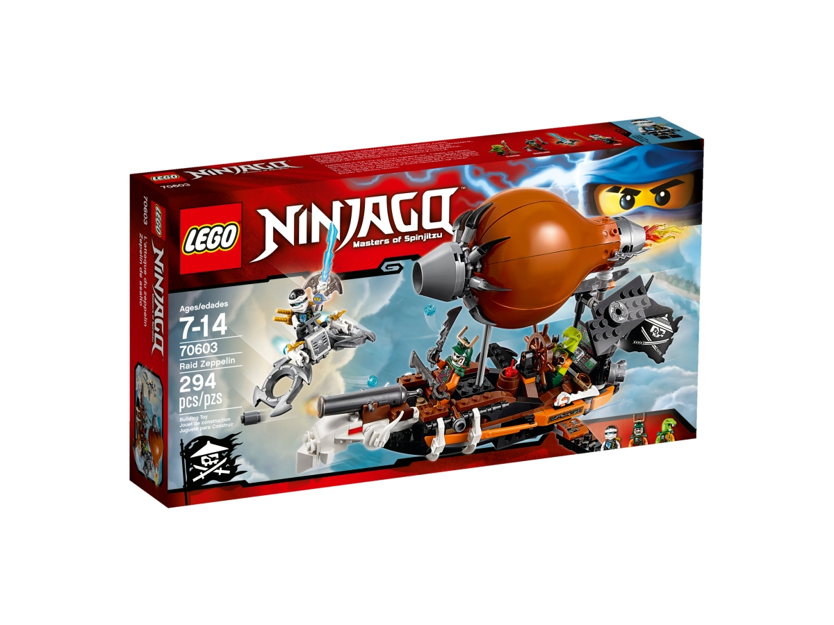 lego 70603 raid zeppelin