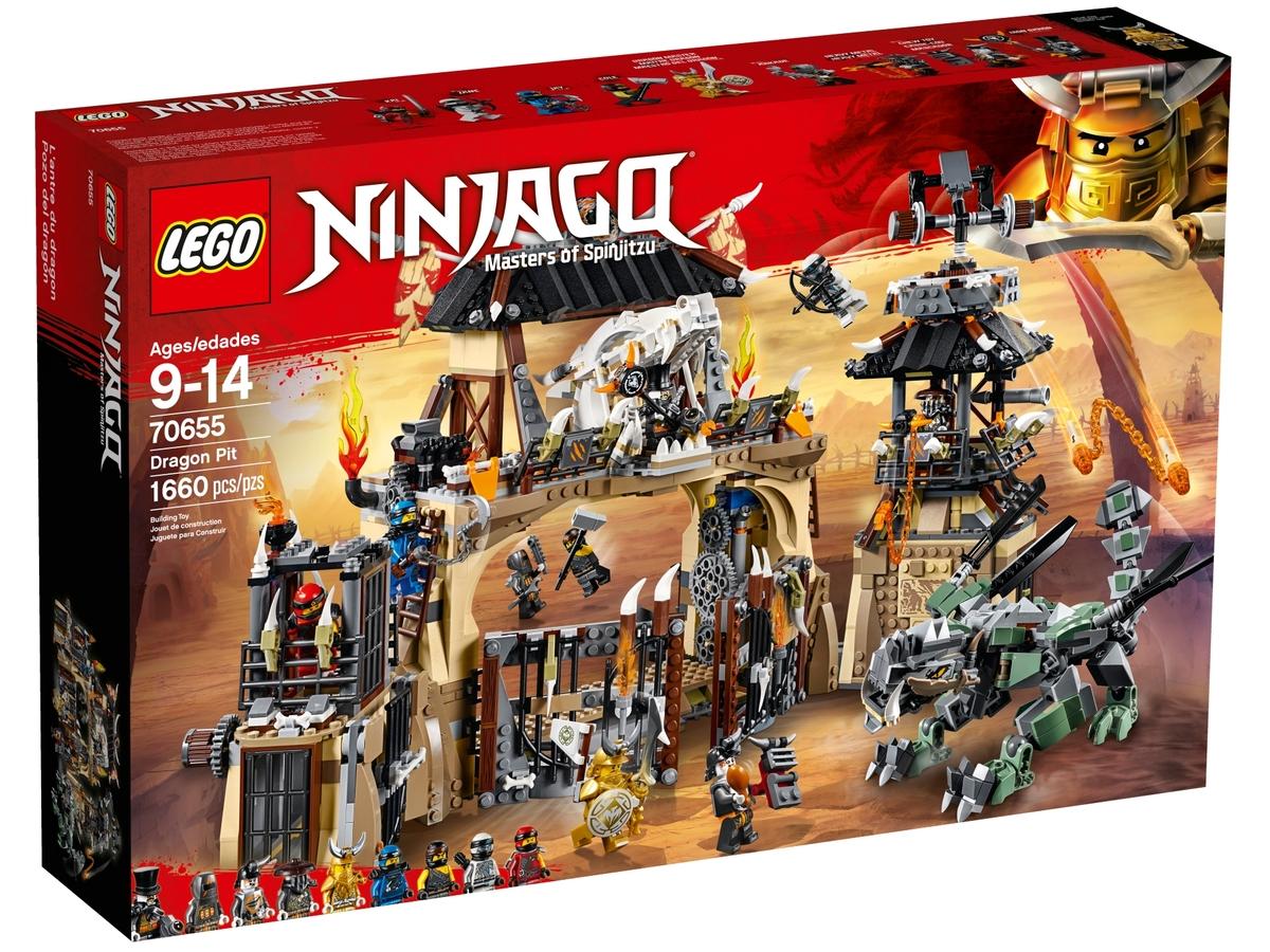 lego 70655 dragon pit