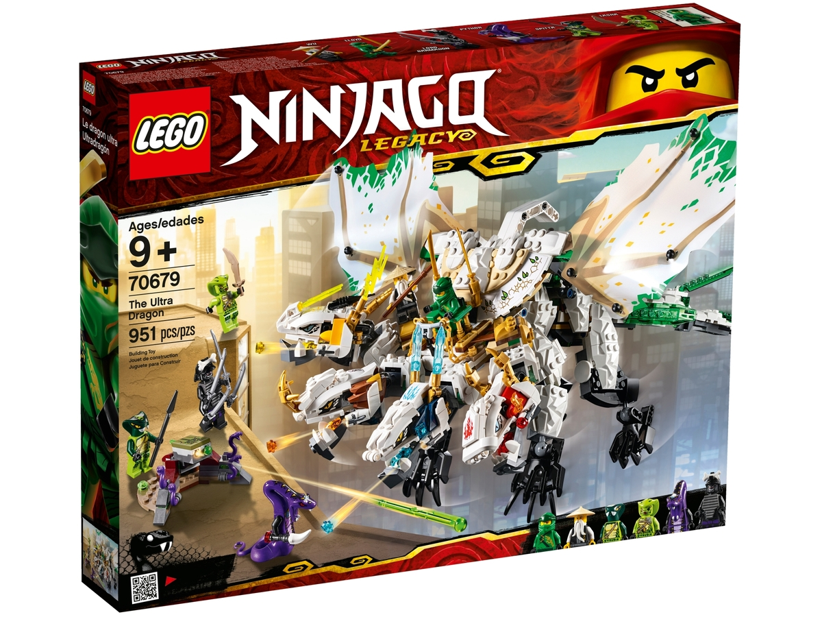 lego 70679 the ultra dragon