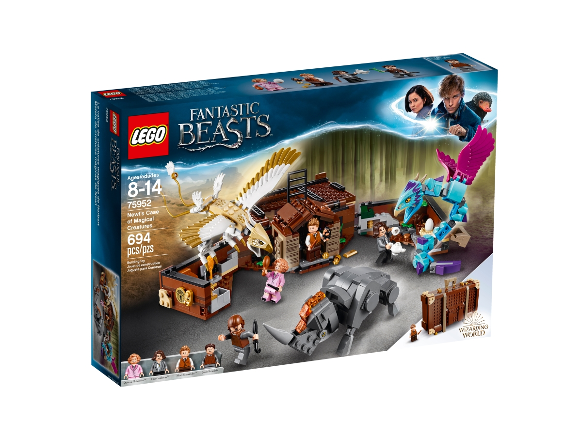 lego 75952 newts case of magical creatures