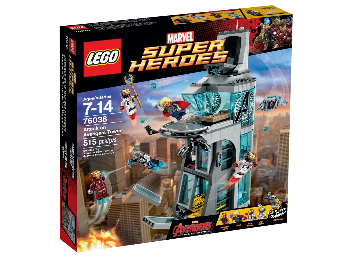 lego 76038 attack on avengers tower