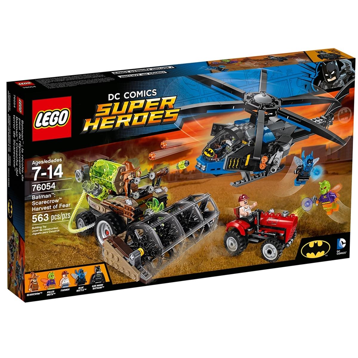 lego 76054 batman scarecrow harvest of fear