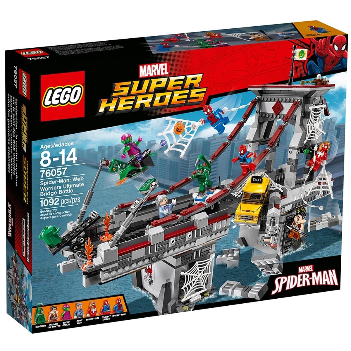 lego 76057 spider man web warriors ultimate bridge battle