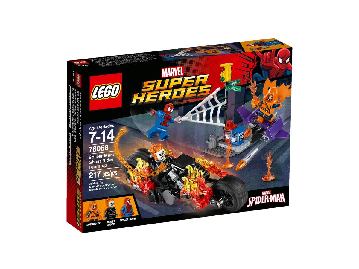 lego 76058 spider man ghost rider team up