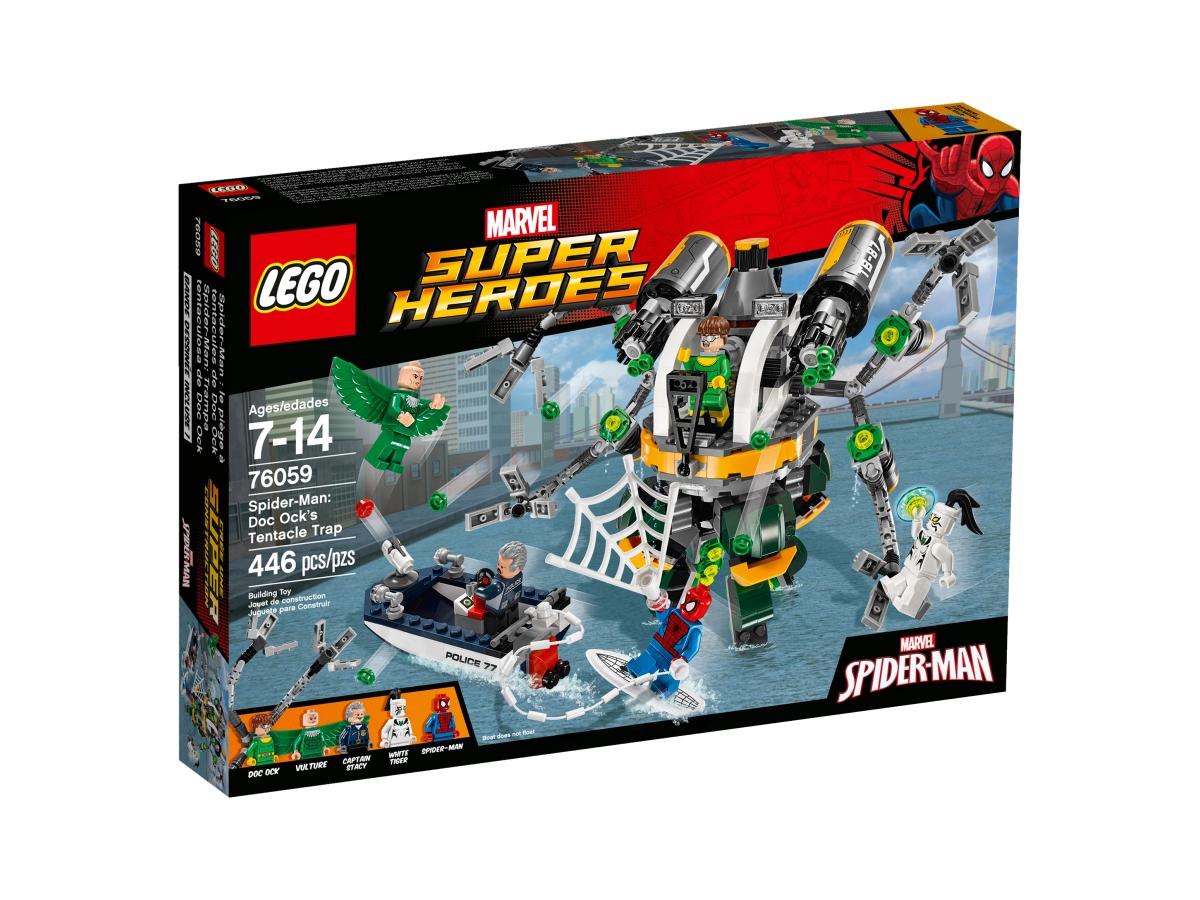 lego 76059 spider man doc ocks tentacle trap