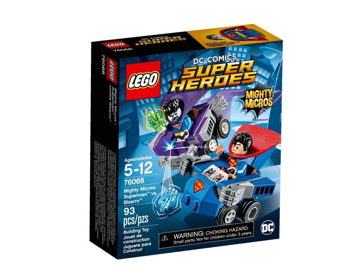 lego 76068 mighty micros superman vs bizarro