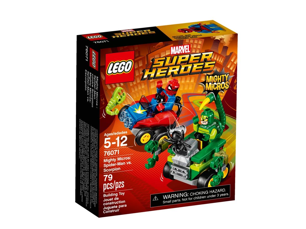 lego 76071 mighty micros spider man vs scorpion