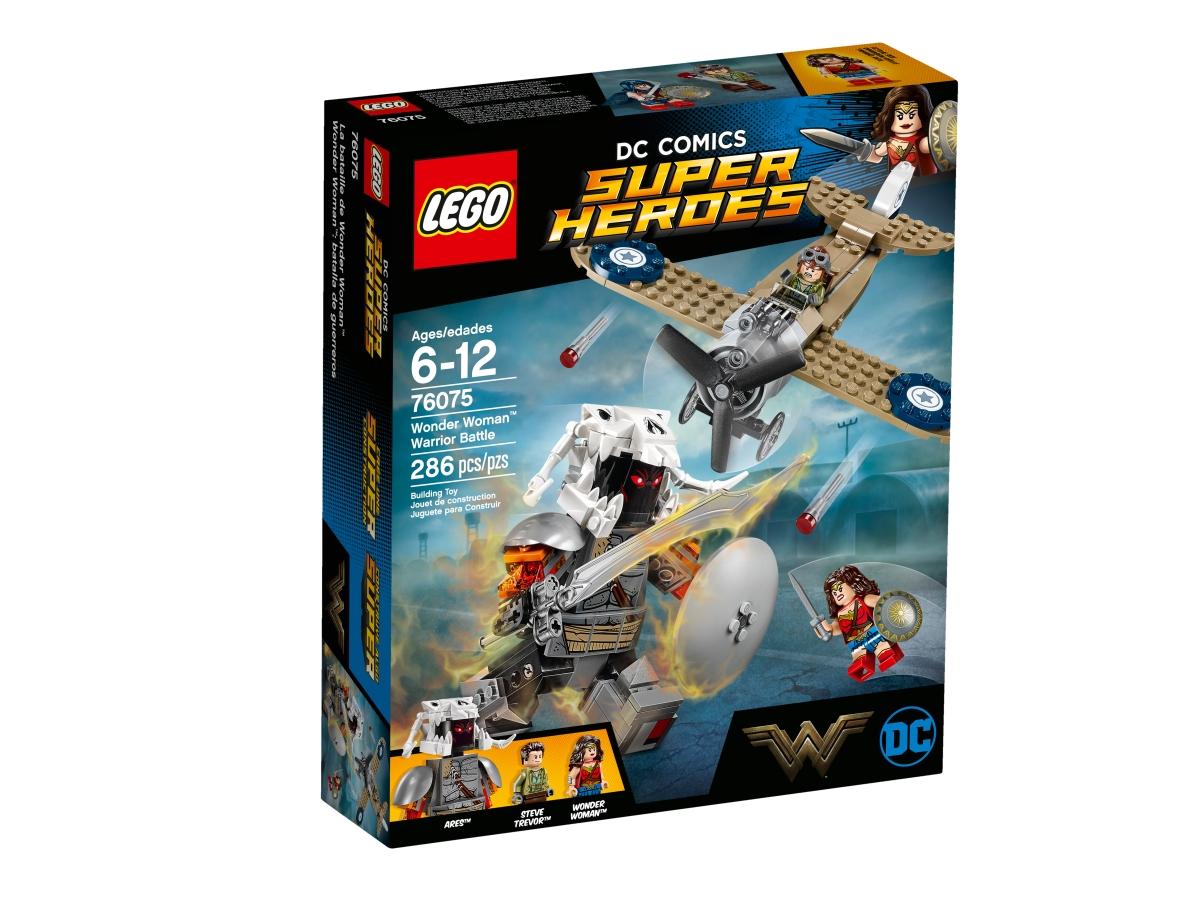 lego 76075 wonder woman warrior battle