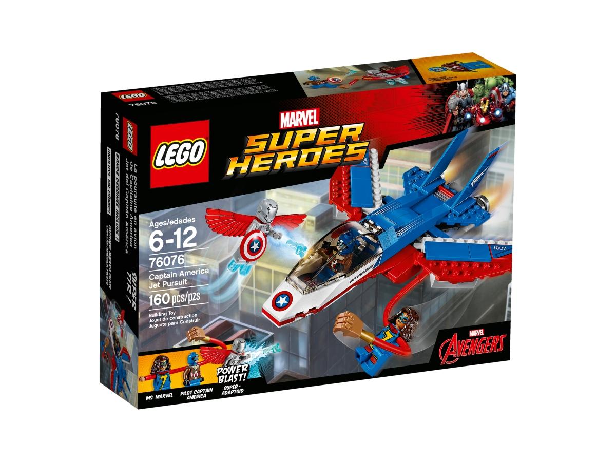 lego 76076 captain america jet pursuit