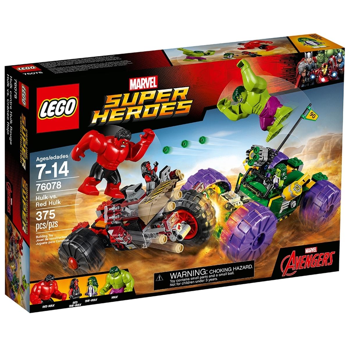 lego 76078 hulk vs red hulk