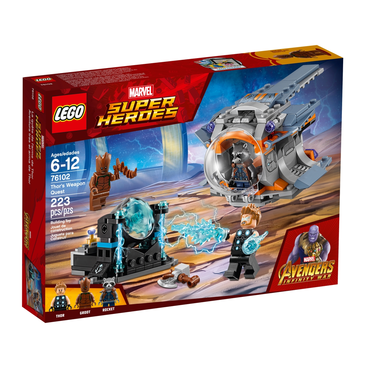 lego 76102 thors weapon quest