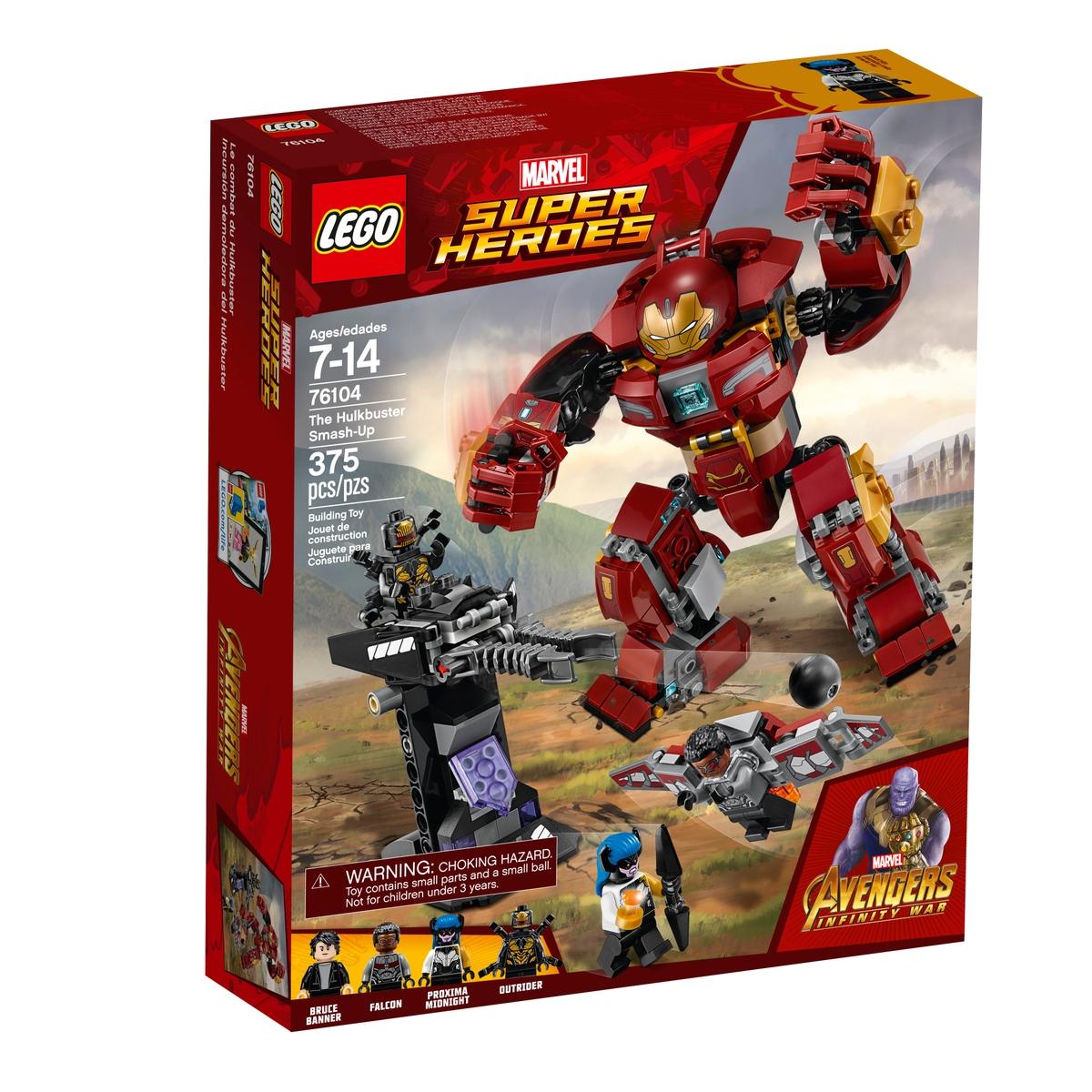 lego 76104 the hulkbuster smash up