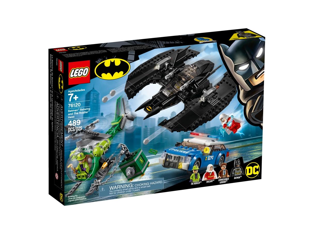 lego 76120 batman batwing and the riddler heist