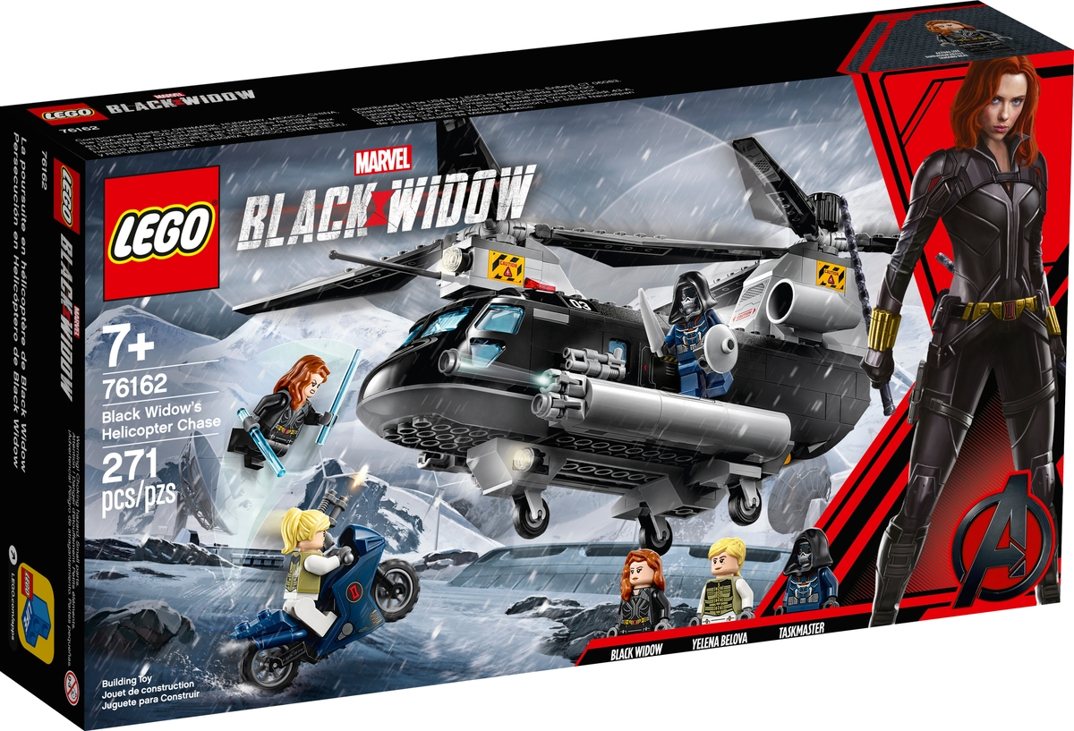 lego 76162 black widows helicopter chase
