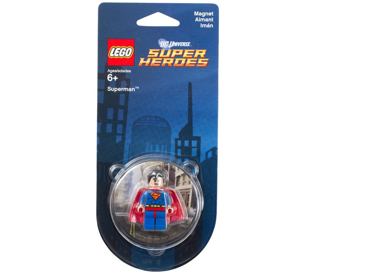 lego 850670 dc comics super heroes superman magnet