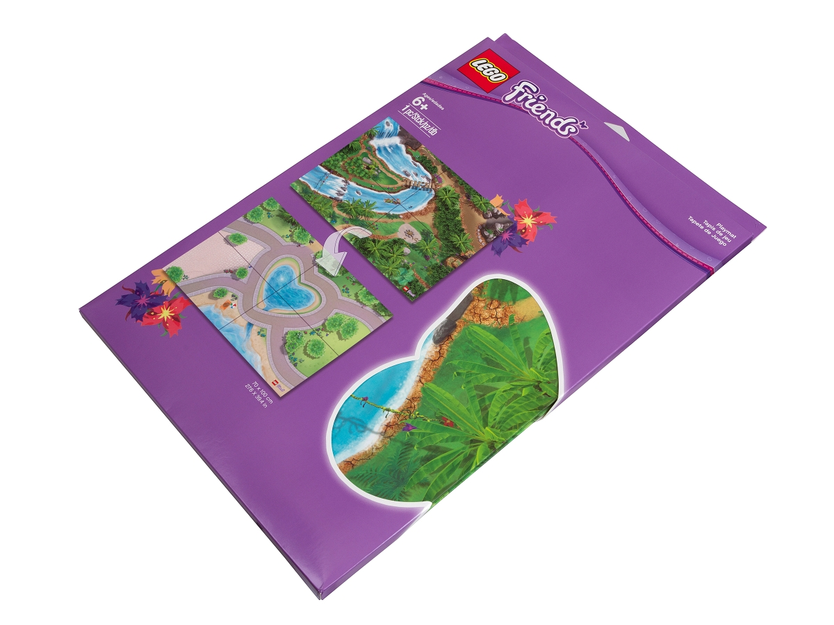 lego 851325 jungle playmat