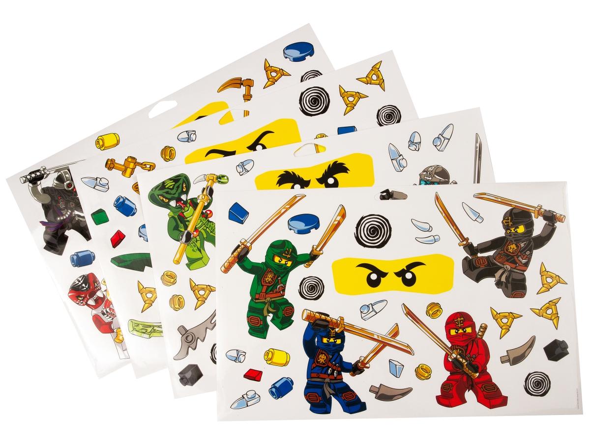 lego 851348 ninjago wall stickers