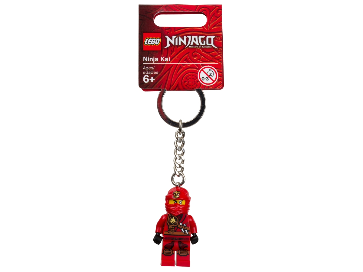 lego 851351 ninjago ninja kai key chain