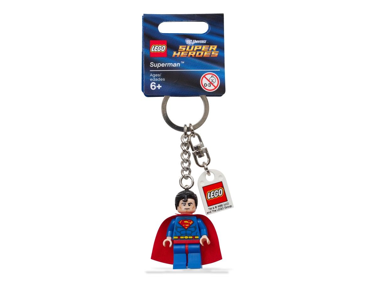 lego 853430 super heroes superman key chain