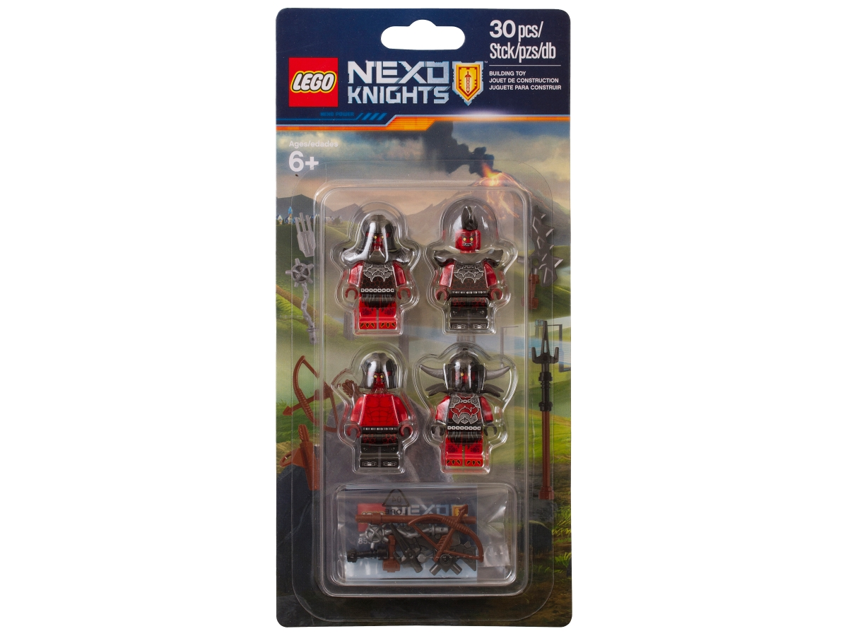 lego 853516 nexo knights monsters army building set