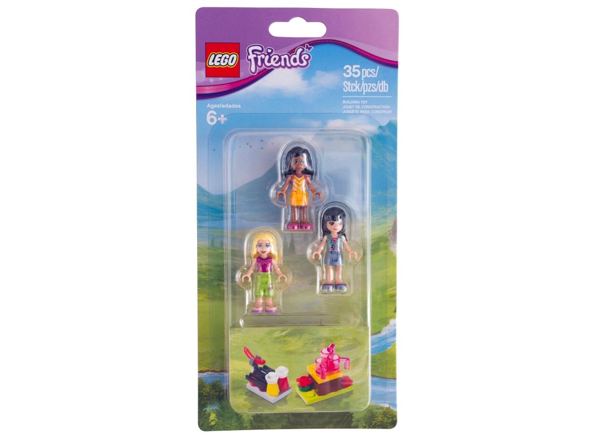 lego 853556 mini doll campsite set