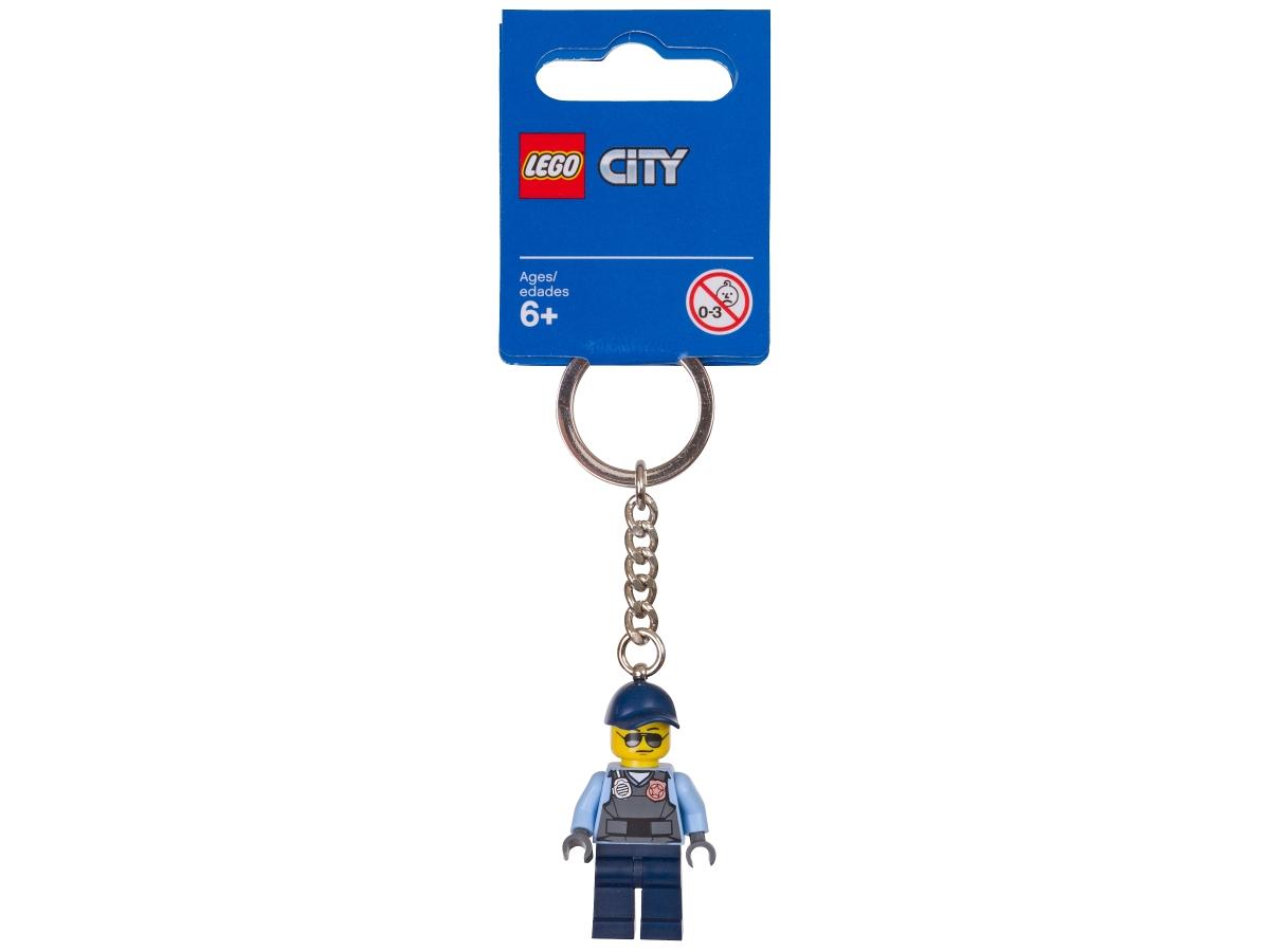 lego 853568 city prison guard key chain